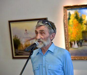 Выставка акварелей Георгия Сокова «Поэтизация обыденности» прошла в Астане